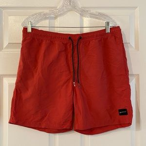 Quicksilver elastic waist board shorts